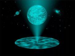 Земля голограмма