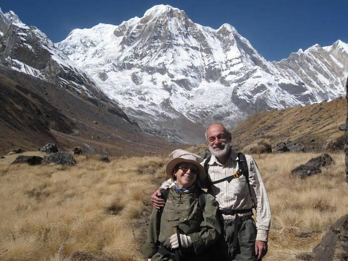 Михаил Левин с женой