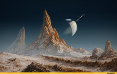 красивые картинки сатурн